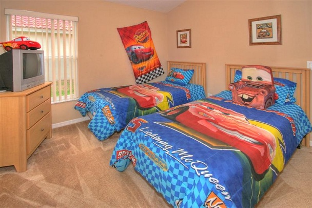 Solana Villa Disney Cars Bedroom